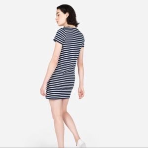 Everlane Gia Striped Tee Dress NWOT